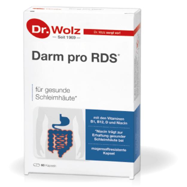 Probiotikai sergantiems dirgliosios žarnos sindromu Darm pro RDS Reizdarm